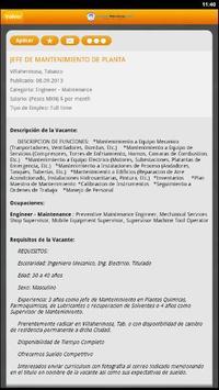Empleos Petroleros apk screenshot