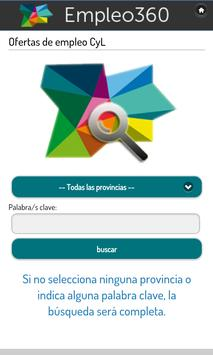 Empleo360 apk screenshot