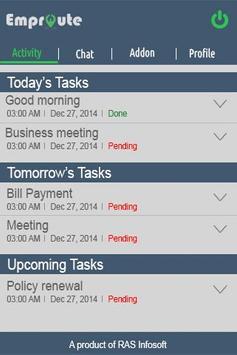 Emproute MobileApp apk screenshot
