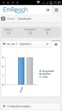 EmReach Manager apk screenshot
