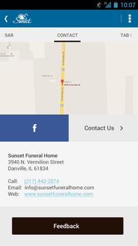 Sunset Funeral Homes apk screenshot