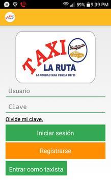La Ruta Taxi poster