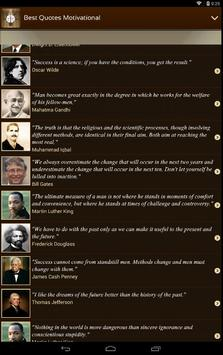 Best Quotes Motivational apk screenshot