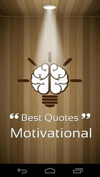 Best Quotes Motivational poster