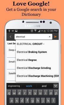 Electrical dictionary apk screenshot
