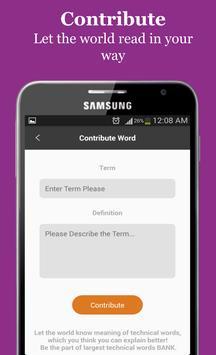 Plastic Dictionary apk screenshot