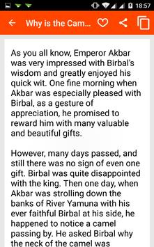 Akbar Birbal Story in English apk screenshot