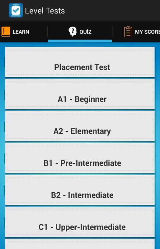 English Tests Online | EasyEnglish