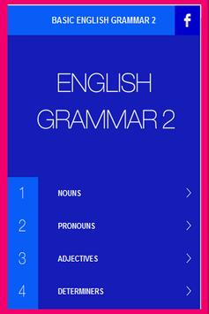 English Grammar Basic poster