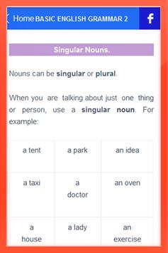English Grammar Basic apk screenshot