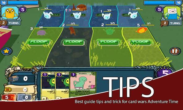 TIPS Card Wars Adventure Time apk screenshot