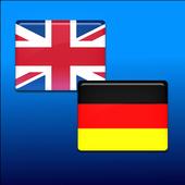 German-English translator icon