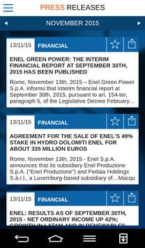 Enel Corporate App apk screenshot