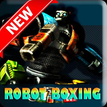 Power Real Boxing Robot tips poster