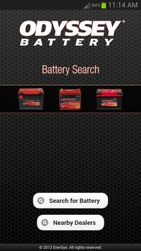 ODYSSEY® Battery Search poster