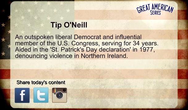 Great Irish Americans apk screenshot