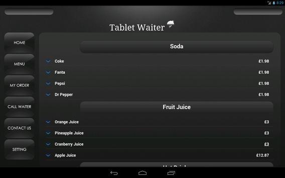 Tablet Waiter poster