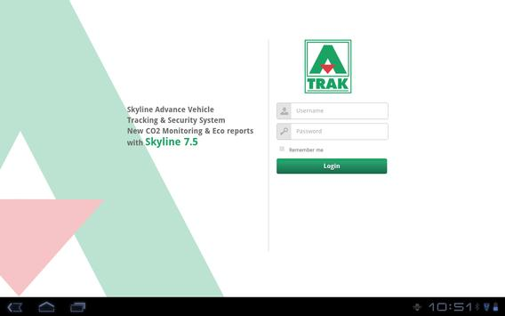 A-Trak Asset Tracking poster