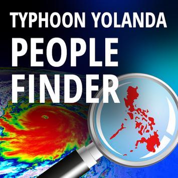 People Finder: Typhoon Yolanda poster