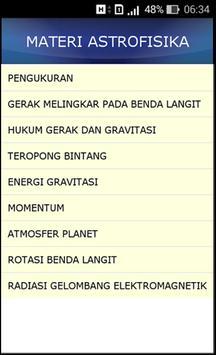 Ensiklopedia Astrofisika apk screenshot