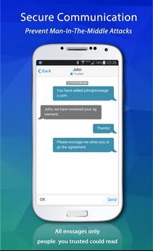 Enssages: Encrypted Messages apk screenshot