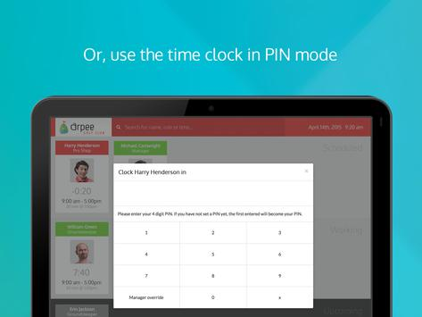Ento Time Clock apk screenshot
