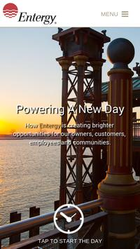 Entergy Report 2014 poster