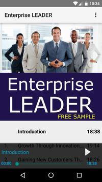 Enterprise LEADER: Sample poster