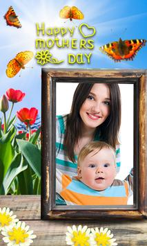 Photo frames for mothers day poster
