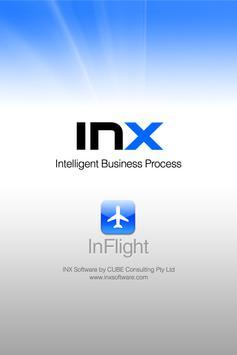 INX InFlight poster