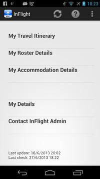 INX InFlight apk screenshot