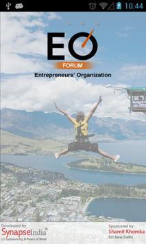 EO Forum poster