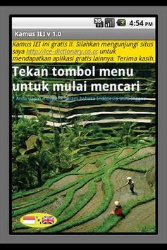 Kamus IEI poster