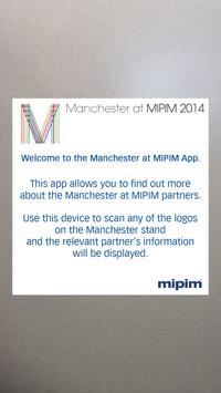 Manchester at MIPIM Partners poster