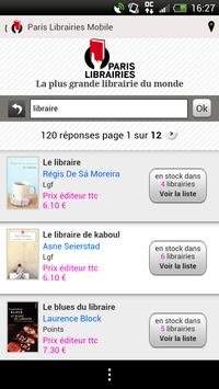 Paris Librairies apk screenshot