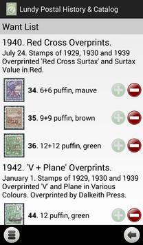 Lundy Postal History & Catalog apk screenshot