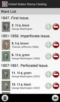United States Stamp Catalog apk screenshot