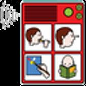 AAC speech communicator icon