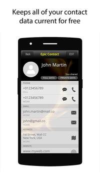 Epic Contact apk screenshot