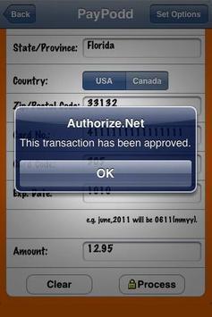 PayPodd Credit Card Terminal apk screenshot