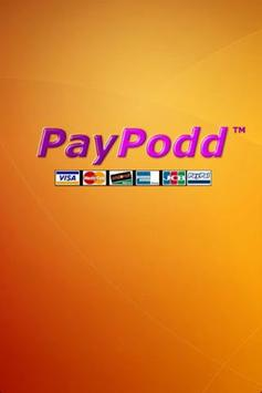 PayPodd Credit Card Terminal poster