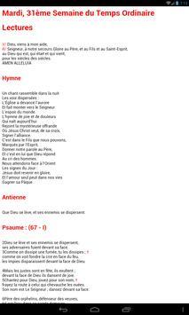 ePrex Liturgie des Heures apk screenshot