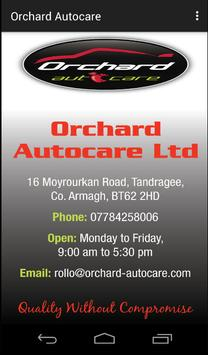 Orchard Autocare poster