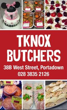 Tknox Butchers poster