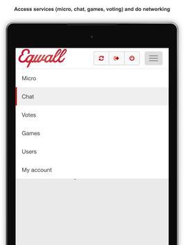 Eqwall apk screenshot