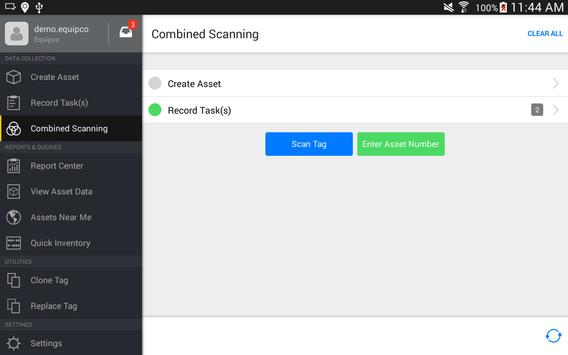 Equipdata for Android apk screenshot
