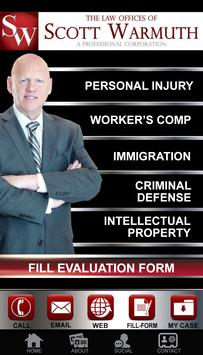 Law Offices of Scott Warmuth poster