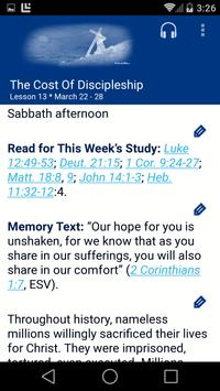 SDA Sabbath School Quarterly apk screenshot