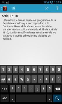 Constitución de Venezuela apk screenshot