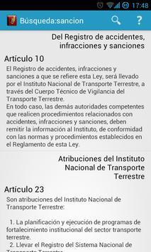 Ley de Tránsito Venezuela LTT apk screenshot